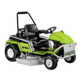 Ride on lawnmowers with twin functions cutter deck